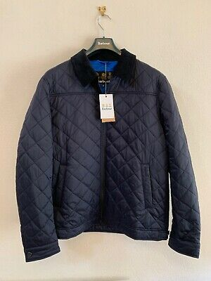 barbour trough quilted jacket