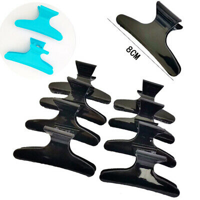 12PCS/Set Section Clamp Claw Hairdressing Butterfly Styling Salon  Clips  Hair