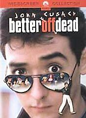 Better Off Dead DVD 2002 Widescreen Collection John Cusack Very Clean Disc