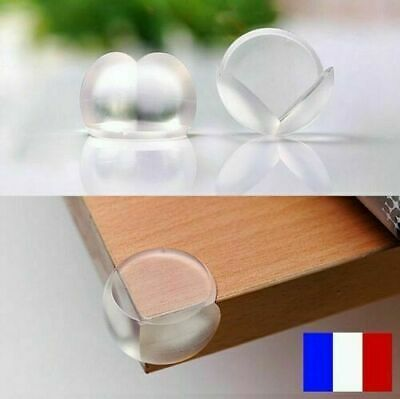 Protection Silicone Coin Table Basse Pare Anti Choc Meuble Bebe Enfant Securite
