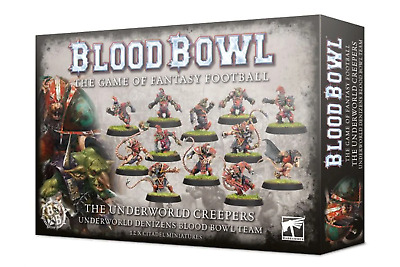 Blood Bowl Games Workshop 5011921133208 The Underworld Creepers