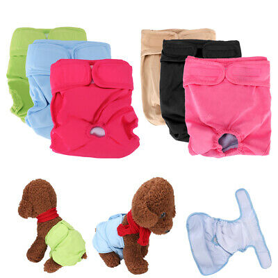 PACK of 3 Dog Diapers Male Belly Band Wrap LEAK PROOF Washable ULTRA ABSORBENT