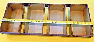 """FOCUS foodservice 909415 4 Strap Bread Pans 10""""x5""""x3"""" Pans    Free Shipping!"""