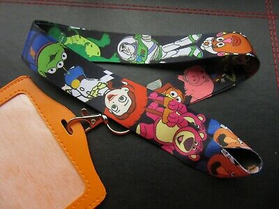 TOY STORY LANYARD NECK STRAP PIN TRADING ID HOLDER CHARM PENDANT