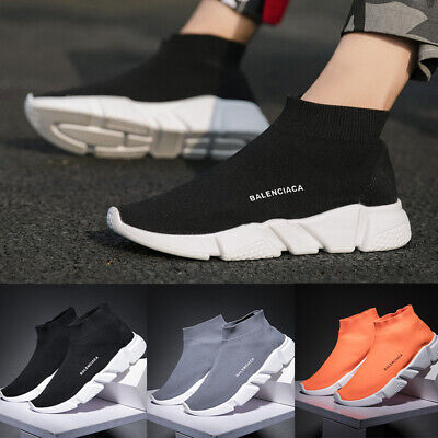 Womens Mens Elastic Sock Shoes Comfort Breathable Running Trainers Sport Shoes