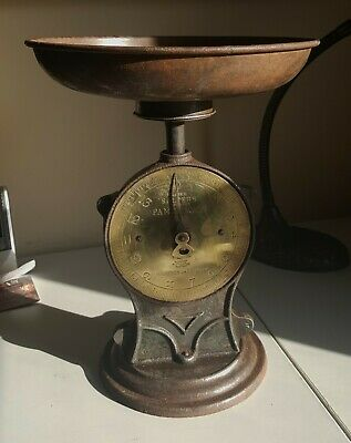 Antique Salter's Family Scale No. 50 (14lbs) Late 1800s/early 1900s)