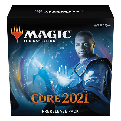 MAGIC THE GATHERING CORE 2021 M21  PRERELEASE 2 KIT LOT FREE PRIORITY SHIPPING