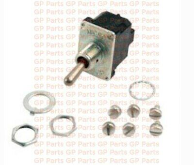 Sealed 3P SPDT Mom On-Off-Mom On Genie T114691GT,TOGGLE SWITCH Blade GS1930