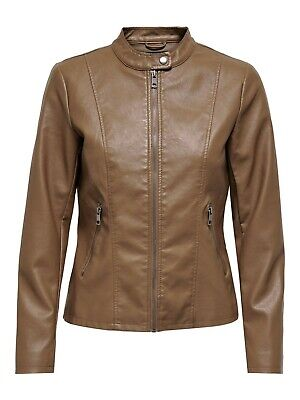 Only Onlmegan Faux Leather Jacket CC Otw Giacca Donna