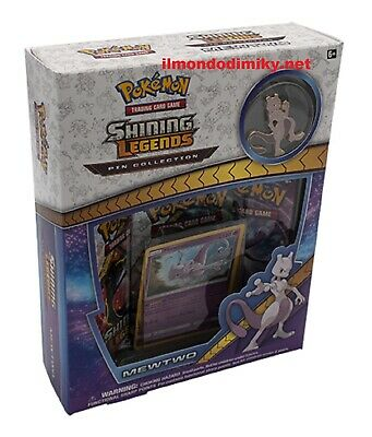 Pokemon Shining Legends Pin Collection-  Mewtwo  inglese