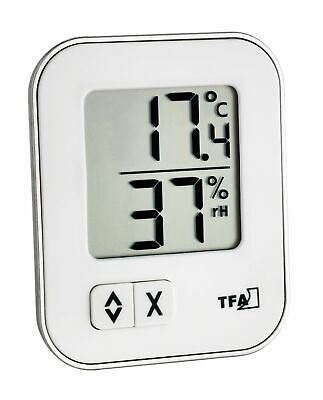 TFA STYLE Digital Thermometer THERMO Hygrometer lila 30502111 inkl Batterie