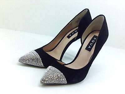 Irregular Choice /'Flexi Lexi/' Black High Heel Sequin Pattern Shoes G