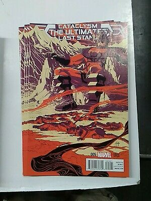 Cataclysm Ultimates Last Stand 1A Bagley Variant NM 2014 Stock Image