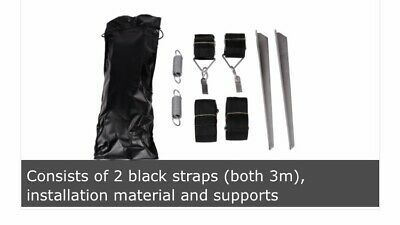 Hold Down Side Strap Kit Sturmsicherung durch Abspannen an den Stützbeinen
