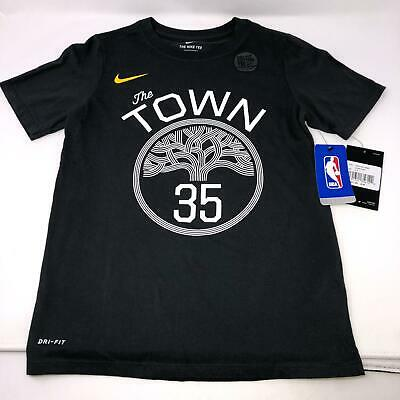 Golden State Warriors Nike Dri Fit The Town Durant TShirt Youth Small