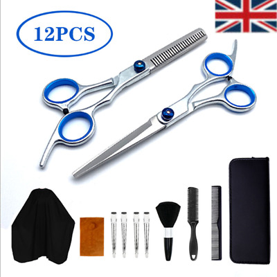 Salon Hairdressing Professional Barber Hair Cutting Thinning Scissors Shears Set