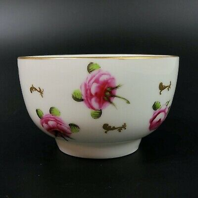 Antique Derby King St. Hand Painted Porcelain Bowl C.1860