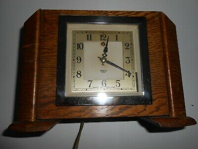Smiths Electric Mantle Piece Clock