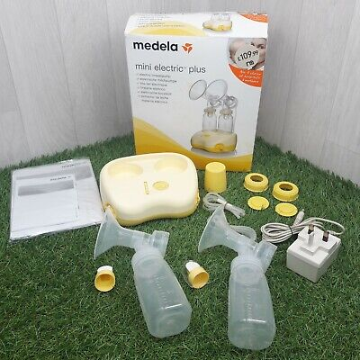 Medela Mini Electric Plus Double Breast Pump *Battery or Mains Powered*