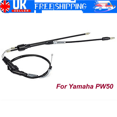 Front and Rear Brake Cable Yamaha PW50 1981-2015 PW Piwi Peewee PY 50 PY50