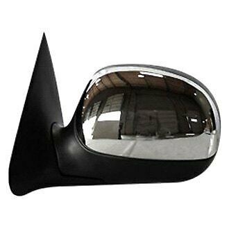 TYC 3000032 Compatible with Ford Bronco Driver Side Power Non-Heated Replacement Mirror without Performance Package