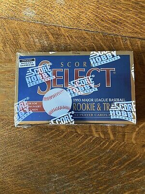 1993 Score Select Rookie Traded Baseball Cards Hobby Exclusive Factory Sealed
