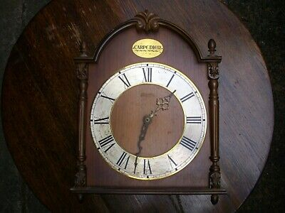 Hermle Carpediem Chiming Wall Clock (Spares or Repairs)