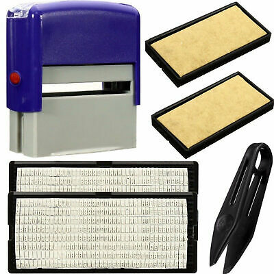 Stamp Plate Text Plate Trodat Printy 4910 4911 4912 4913 4915