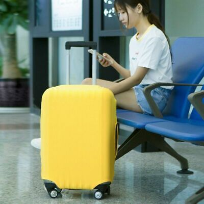 Luggage Case Suitcase Bag Travel Holder Passport Tag Set Protective Dust Cover