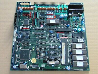 Thunder Force Ac -- Sega / Conversion / Working & Clean / Arcade Jamma Pcb  #342