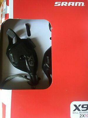 SRAM X9 Left Hand 2 Speed Bearing Trigger Shifter NEW FREE UK POSTAGE