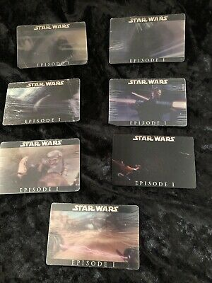 Ultra Rare Star Wars Episode 1 Holograph Trading Cards