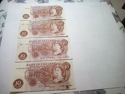 10 Shilling notes