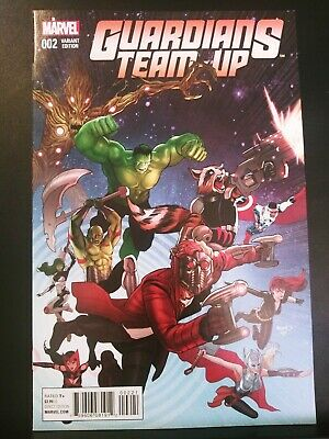 GUARDIANS TEAM-UP #1 1:25 FERRY VARIANT COVER STOCK IMAGE