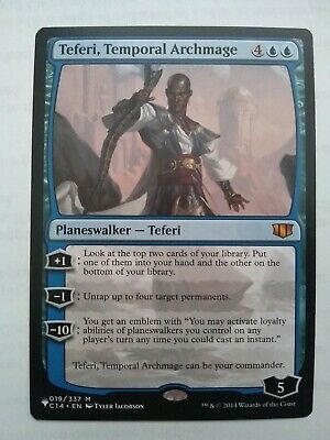 Teferi Mystery Booster Promo Near Mint MTG 2B3 Temporal Archmage 019//337
