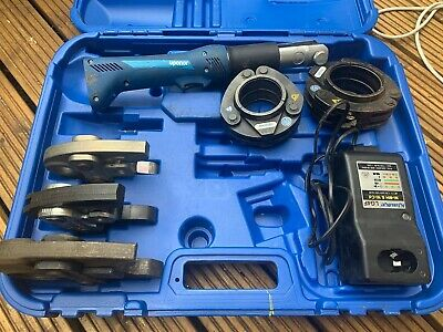 Uponor Akku Pressmaschine Mini 32 No Battery With Presses And Clamps