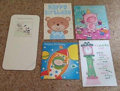 Selection Of Birthday Cards NEW