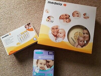 Medela swing single electric breast pump With Extra Accessories