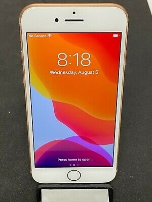 Apple iPhone 8 64GB GOLD (A1905) GSM FACTORY UNLOCKED Excellent Condition