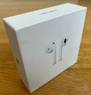 Apple AirPods 2nd Generation Charging Case White MV7N2AM/A Authentic Earbuds NEW