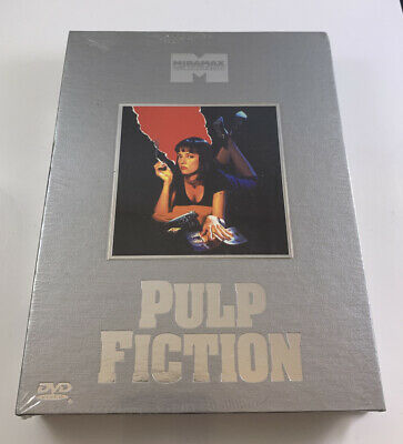 Pulp Fiction (DVD, 2002, 2-Disc Set, Classic Collection Series Box Set) NEW