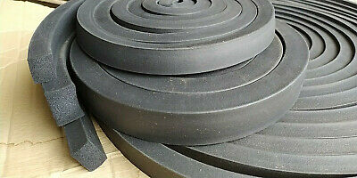 Foam Rubber EPDM Square Profile 30x40 mm as Sold by the Meter Rubber Seal