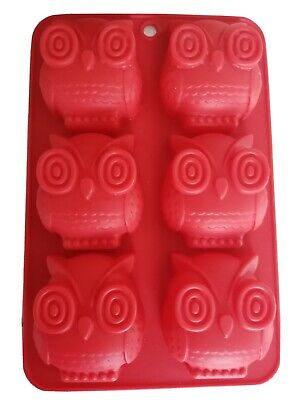 Red Owl Silicone Chocolate Mould