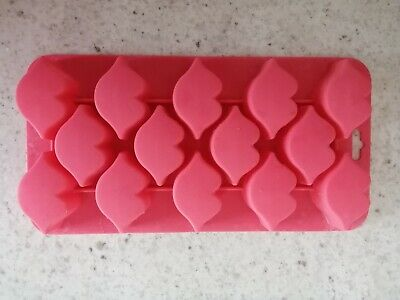 Pink Lips Silicone Chocolate Mould