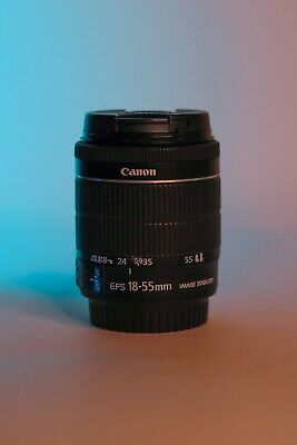 Canon Ef-s 18-55mm F/3.5-5.6 Is STM Lens Mint Condition
