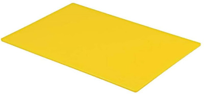 Professional Large Chopping Board Catering Food Prep Cutting Colour Coded Yellow