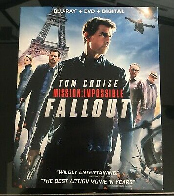 Mission: Impossible - Fallout [Blu-Ray + DVD 3-Disc Set]