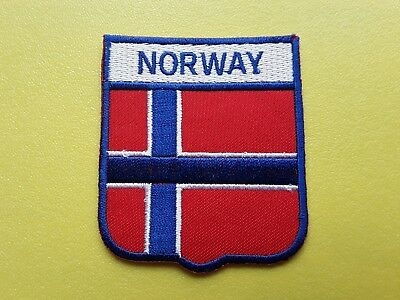 """WW2 Rare Patch of the Norwegian Resistance Army 3/"""" Iron Or Sew On Norway"""