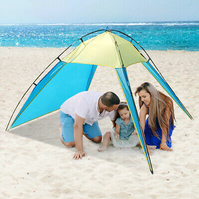 Anti-UV Beach Tent Instant Camping Pop up Carry Case Picnic Hiking Outdoor A3E8