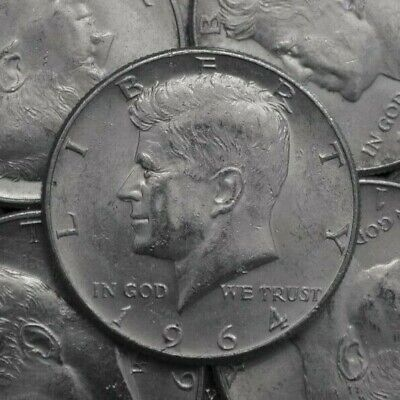 """/""""Sale 4ea/"""" 40/% Silver Coin Lot 1965-1969 Kennedy Half Dollars,Choose How Many!"""